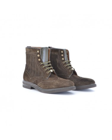 Brimarts bottines en daim