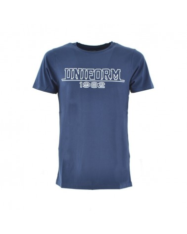 Uniform t-shirt nezza manica con stampa logo