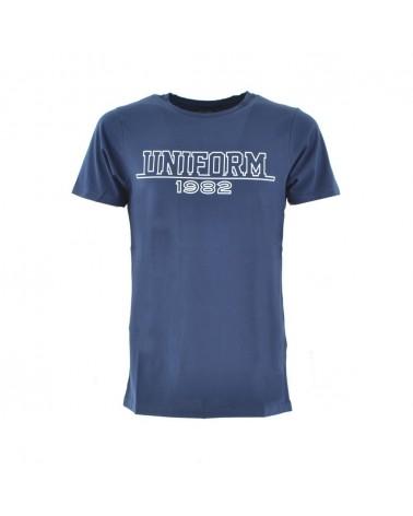 Uniform t-shirt subtlety sleeve with logo print