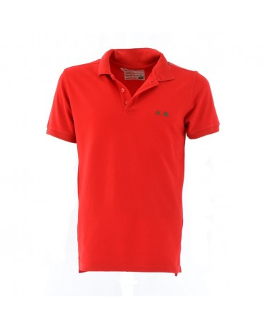 PROJECT E POLO MEN'S SLIM FIT SHORT SLEEVE
