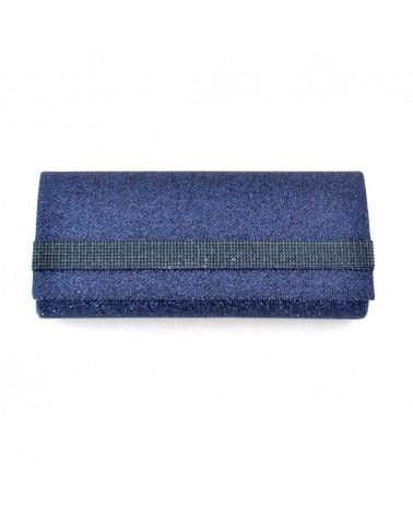 MUSANI borsa pochette donna blu