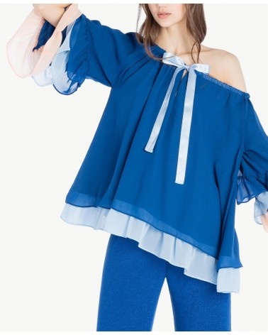 SCEE BY TWINSET BLUSA BALZE