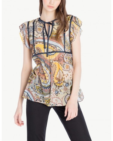 SCEE BY TWINSET TOP STAMPA