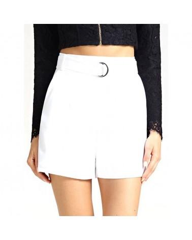 Guess shorts dettaglio cintura donna